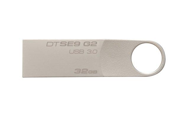 Kingston Digital 32 GB Data Traveler SE9 G2 USB 3.0 Flash Drive (DTSE9G2/32GBET)
