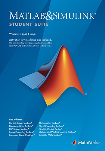 MATLAB and Simulink Student Suite R2016a